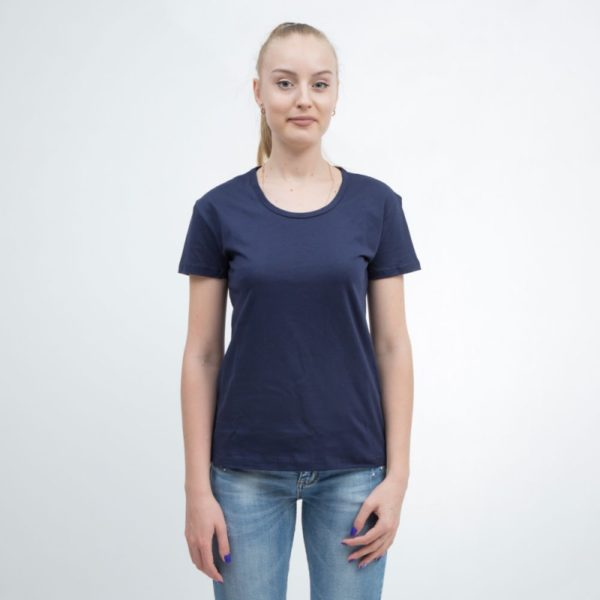 T-shirts women's dark blue